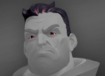 Viktor Head Charcoal Crew Cut Icon.png