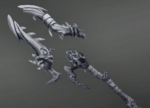 Grohk Weapon Obsidian Lightning Staff Icon.png