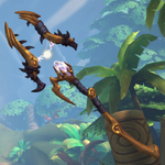 Grohk Weapon Golden Lightning Staff.png