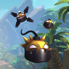 Bomb King Weapon Golden Bomb.png
