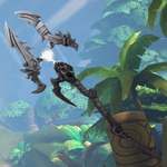 Grohk Weapon Obsidian Lightning Staff.png
