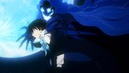 Ep3 Vanitas revealing he is part of the Clan of the Blue Moon