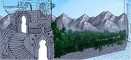 Schlossturm Skizze