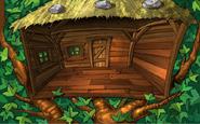 Altes Baumhaus