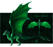 Emerald dragon by diterkha