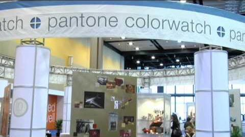 Pantone Color Watch 2011 at the 2010 International Home Housewares Show