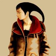 Azel-wearing-her-craymen-jacket