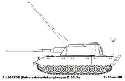 -fake- Universalabwehrkampfwagen E-100UA Alligator.jpg