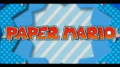 Paper Mario 3DS Official Trailer (E3 2011)