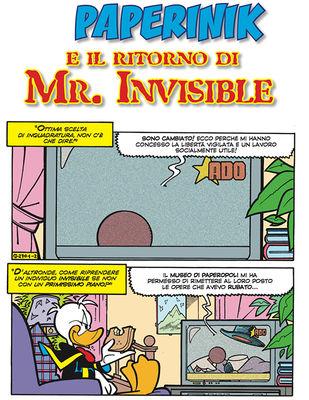 Paperinik e il ritorno di Mr. Invisible