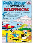 Paperinik e le intercettazioni telefoniche