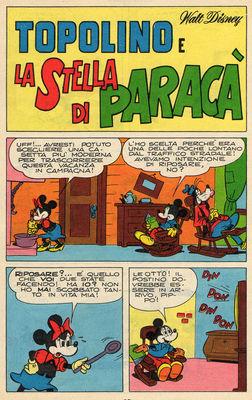 Topolino e la stella di Paracà