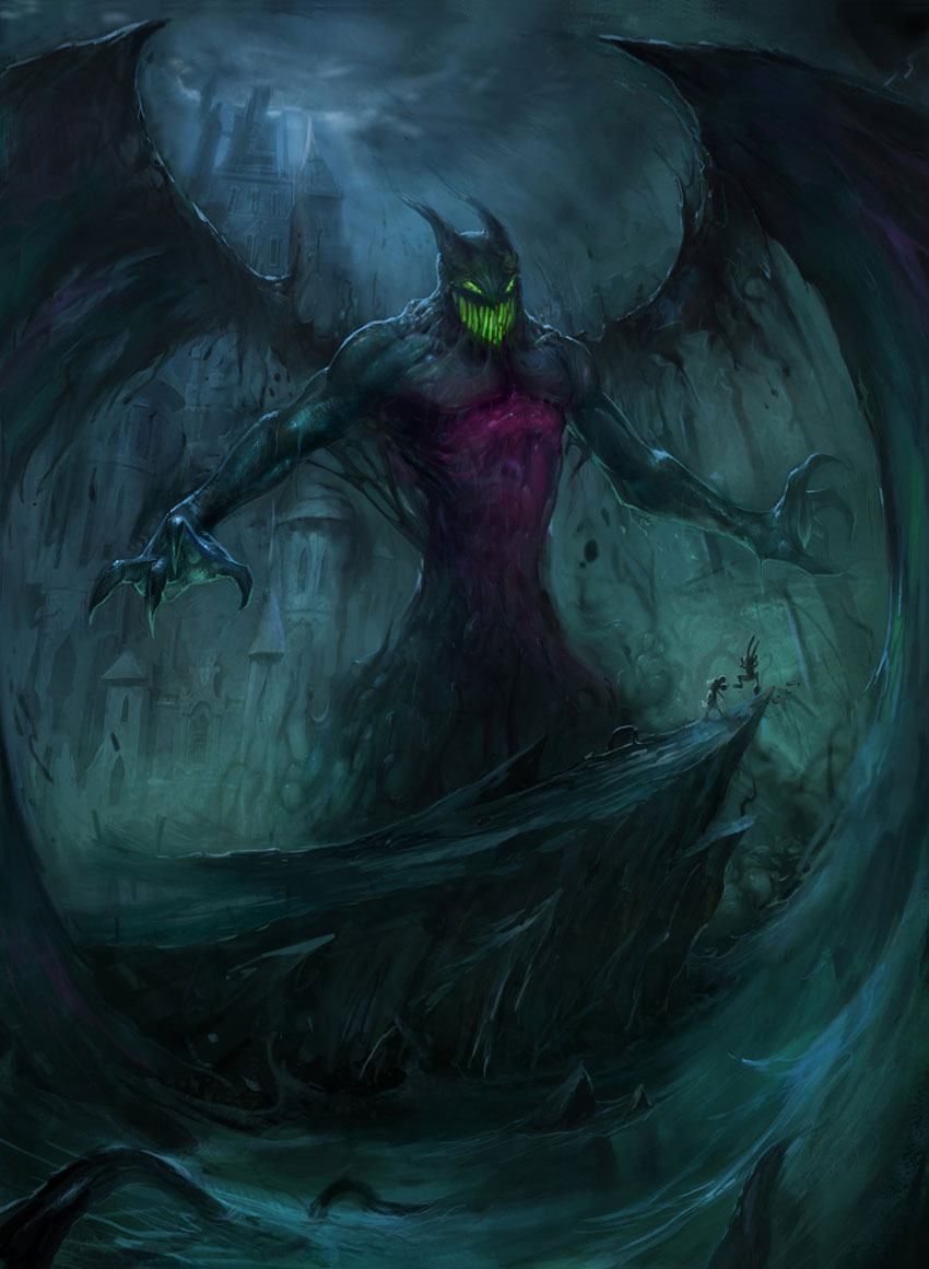 Inazuma-sensei/Phantoms in the Shadow: Capitolo IX