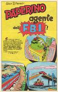 Paperino agente dell'FBI
