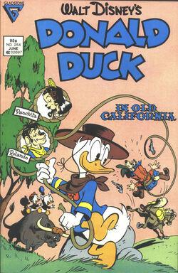 Donald duck in old california.jpg