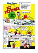 Copertina italiana ''Zio Paperone e la disfida dei dollari''