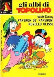 Zio Paperone novello Ulisse