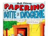 Paperino e la botte di Diogene