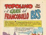 Topolino e il quiz del francobollo bis
