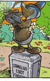 Statua cornelius coot