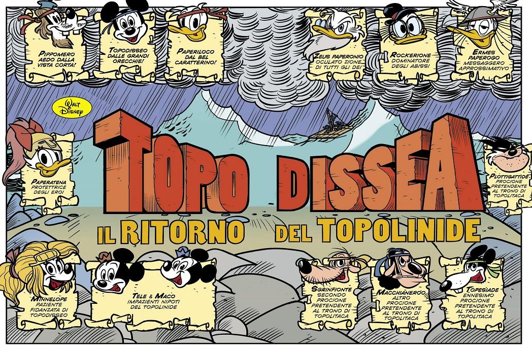 Topodissea - Il ritorno del Topolinide