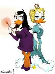 Goldie and Magica - All for a dime.jpg