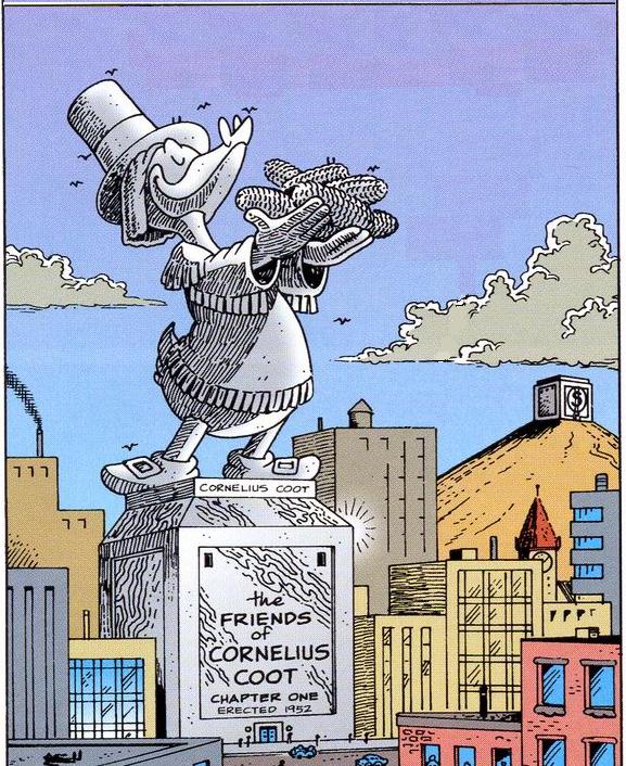 Statua di Cornelius Coot