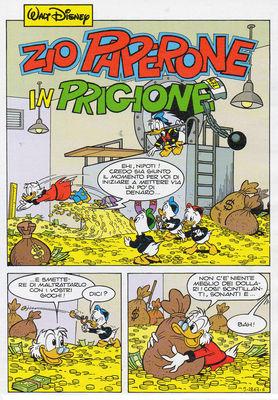 Zio Paperone in prigione