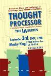 Thought Processor LA poster