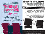 Thought Processor NYC poster