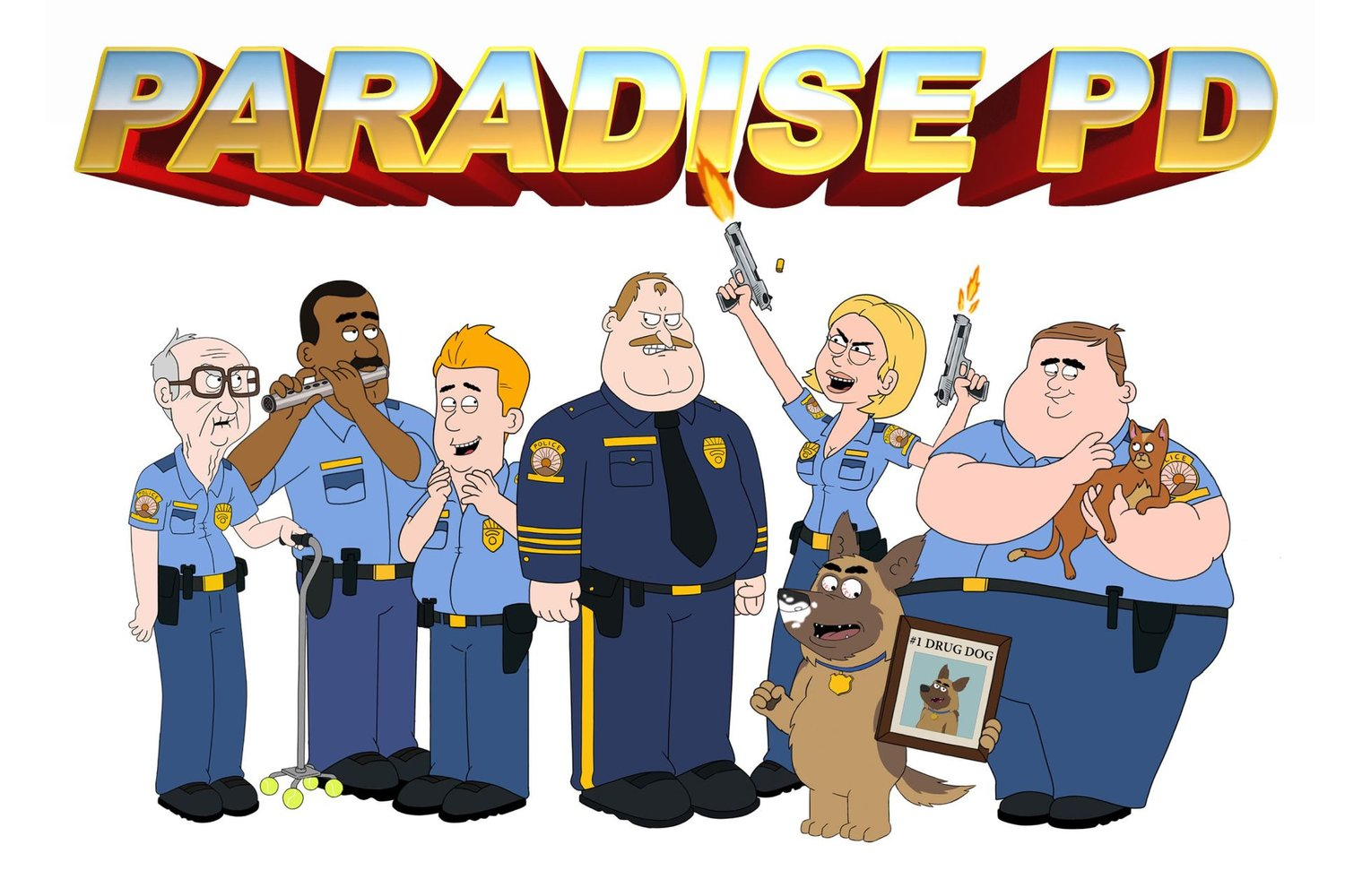 Image result for Paradise PD