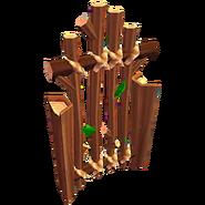 Deco fences griffin gate
