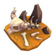 Deco Lion Bones