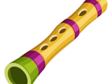 Flauta de bambú