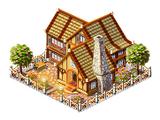 European country house