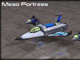 Mesofortress Gunship