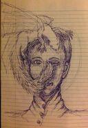 Harris and marisyl pen sketch