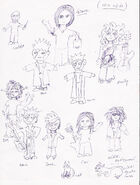 Between world sketches