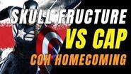 CITY OF HEROES Homecoming! CAP Versus SKULL FRACTURE!