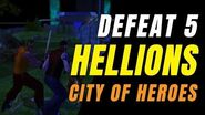 CITY OF HEROES Homecoming! CAP Defeated HELLIONS!