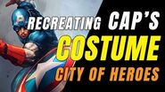 CITY OF HEROES Gameplay 2019! Recreating CAP's Costume!