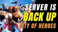 CITY OF HEROES Gameplay 2019 • SERVER IS BACK & New HERO AGAIN!