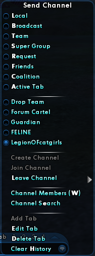 Global Chat Channel