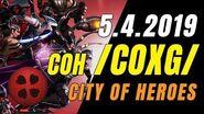 CITY OF HEROES ( COXG Server) 5.4