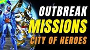 CITY OF HEROES Gameplay 2019! Cap Doing Outbreak Missions!