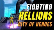 CITY OF HEROES (HOMECOMING) One Punch Man Fighting Hellions!