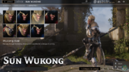 Wukong Rival skin