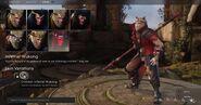Wukong Crimson Infernal skin