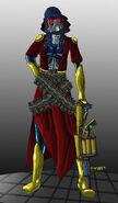 Bakuda non bomberman outfit worm by wolfofragnarok-d7qfton