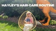 HAYLEY WILLIAMS HAIR CARE ROUTINE